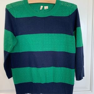 Moth ANTHROPOLOGIE Sweater Stripes- size LARGE